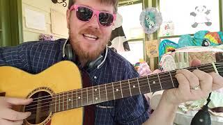 Julia Michaels, Niall Horan - What A Time // easy guitar tutorial beginner