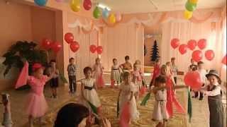 Танец для мам, 8 марта, средняя группа