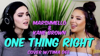 "Marshmello, Kane Brown   One Thing Right (""Sup I'm Bianca"" & ""Tima Dee"" Cover)"