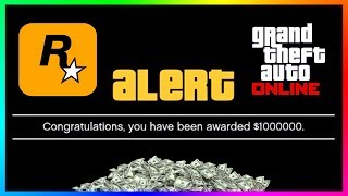 How To Get $1,000,000 For FREE In GTA 5 Online By Doing Absolutely Nothing!