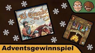El Grande Big Box - Brettspiel-Päckchen-Adventskalender - Tür 7