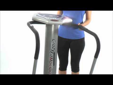 GYM MASTER CRAZY FIT VIBRATION PLATE