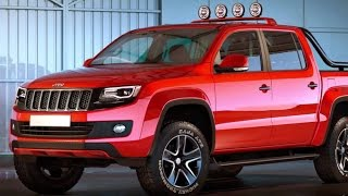 Jeep pickup Truck 2017 Revealed!