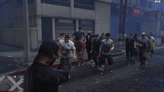 GTA 5 Zombie Mod - Zombies tấn công thành phố GTA 5