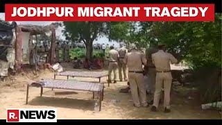 Rajasthan: 11 Pakistani Migrants Found Dead In Jodhpur, Investigation Underway