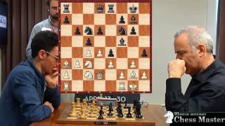 ИДЕАЛЬНАЯ АТАКА Каспарова против чемпиона США Фабиано Каруана! Шахматы
