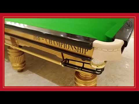 JBB Championship Snooker Table