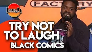 Try Not To Laugh | Black Comics | Laugh Factory Stand Up Comedy - Video Youtube