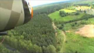 preview picture of video 'Flying Over Łoboda'