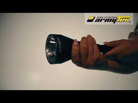 Настройка режимов в фонаре Armytek Barracuda Pro. Переключение из Турбо в Базовый. Стробоскоп