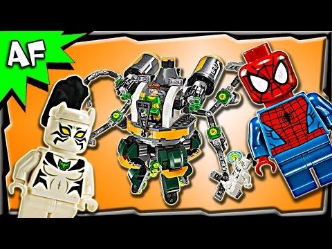 Vidéo LEGO Marvel Super Heroes 76059 : Spider-Man : le piège à tentacules de Doc Ock