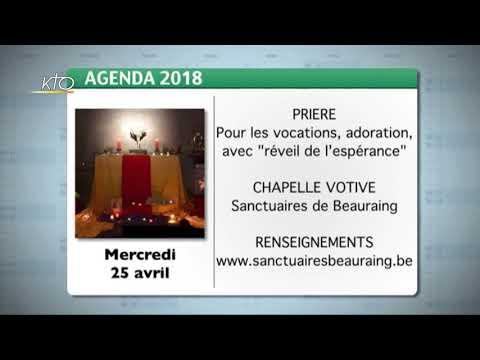 Agenda du 6 avril 2018