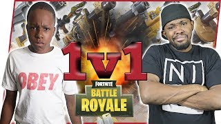 1V1 WITH ANNOYING LITTLE BROTHER TRENT! WHO'S BETTER?! - FortNite Battle Royale Ep.56