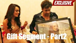 Surbhi Jyoti & Pearl V Puri Receive Gifts From Fans | PART 2