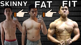 BODY TRANSFORMATION INDONESIA   SKINNY TO FAT TO FIT (17-21 TAHUN)