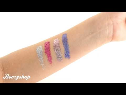 NYX Professional Make Up NYX Cosmetics Glitter Goals Cream Quad Palette Love on Top