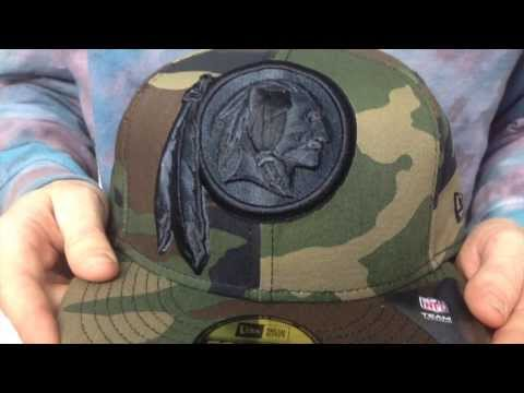 Redskins 'NFL MIGHTY-XL' Army Camo Fitted Hat by New Era