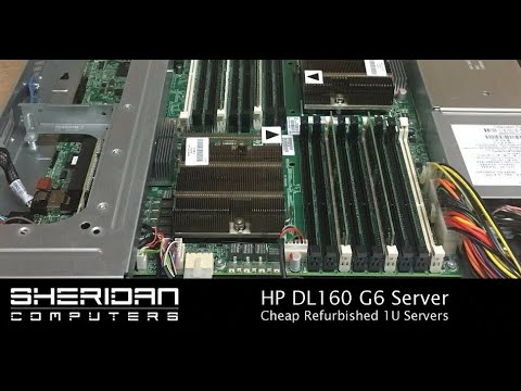 Reconditioned Servers - HP DL160 G6
