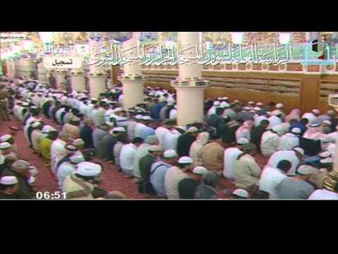 صلاة وخطبة الإستسقاء للشيخ علي الحذيفي 2-12-1431هـ