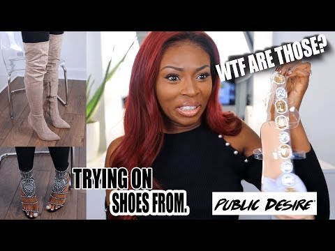UNBOXING SHOES FROM PUBLIC DESIRE….WHAT ARE THOSE? BLACK FRIDAY READY