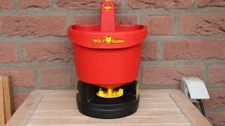 WOLF Garten Universal Streuer Test - NewWonder555