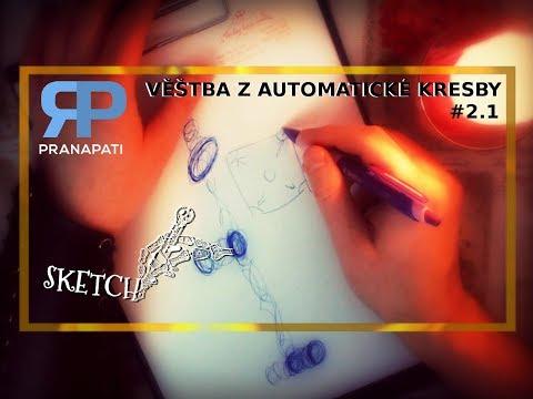 Sketch #2.1 - věštba z automatické kresby