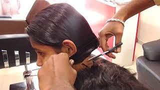 Long To Short Haircut / Blunt Cut For Girls