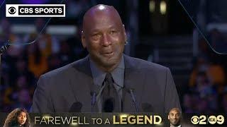 When Kobe Bryant Died, A Piece Of Me Died. - Michael Jordan | CBS Sports