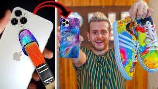 iPhone 11'i BOYADIM! (Bu teknik ile her şeyi boyayabilirsiniz!)