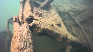 Potápění - Bžany lom Karolína 13.3.2016 (diving)