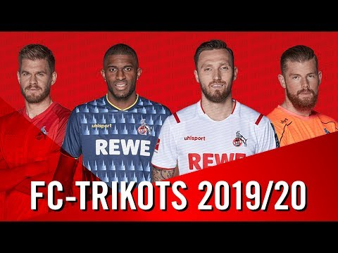 Die neuen FC-TRIKOTS   1. FC Köln   Saison 2019/20