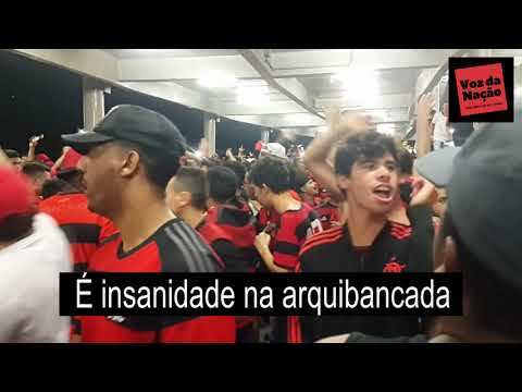 """""""Nada nos para é Insanidade na Arquibancada - Letra e Música - Legendados"""" Barra: Nação 12 • Club: Flamengo"""
