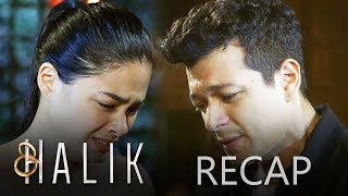 Halik Recap Week 18 - Part 1 Halik December 10 - 12 Episodes  Marissa (Niña Dolino) bids an emotional farewell to Jade (Yam Concepcion) after deciding to stay with a relative in the province. Having no one else to lean on to during her delicate pregnancy, Jade pleads with Lino (Jericho Rosales) to help her. Worried about what Jade might do, Lino arrives at an important decision for the sake of her unborn child. His family, however, refuses to support his idea. Meanwhile, Ace (Sam Milby) is determined to use Jacky (Yen santos) in order to return to MonteCorp.  The Bartolomes are dismayed when Jade (Yam Concepcion) moves back into their house. Later, Lino (Jericho Rosales) reveals to Jacky (Yen Santos) that Jade is carrying Ace's child. Enraged, Jacky teaches her former husband (Sam Milby) a lesson. Meanwhile, Jade finds a way to protect the future of her unborn child. She soon makes a shocking revelation to Marissa (Niña Dolino).  Marissa (Niña Dolino) vows to make Ace (Sam Milby) pay for assaulting Jade (Yam Concepcion). Worried about her best friend, Marissa then asks for a private meeting with Lino (Jericho Rosales). There, she surprises him with her news regarding Jade. This later causes Lino to explode with rage. Soon, another tension ensues between Lino and Ace.  Subscribe to the ABS-CBN Entertainment channel! -  http://bit.ly/ABSCBNOnline  For outside Philippine Viewers, click here: http://bit.ly/Halik-TFCTV  Visit our official website!  http://entertainment.abs-cbn.com http://www.push.com.ph  Facebook: http://www.facebook.com/ABSCBNnetwork  Twitter:  https://twitter.com/ABSCBN https://twitter.com/abscbndotcom Instagram: http://instagram.com/abscbnonline  Recap Cast: Yen Santos (Jacky) / Jericho Rosales (Lino) / Christian Bables (Barry) / Hero Angeles (Ken) / Ruben Gonzaga (Samson) / Lowell Conales (Pancho) / Amy Austria-Ventura (Dolor) / Crispin Pineda (Ed) / Sam Milby (Ace) / Daisy Cariño (Fe) / Yam Concepcion (Jade) / JC Alcantara (Bogs) / Cris Villanueva (
