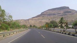 Driving on Mumbai-Agra Highway NH 60 (Near Malegaon) - Maharashtra, India