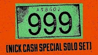 999 (Nick Cash) @ 100 Club - 08.01.15 (Pt3) Boiler+Obsessed+Emergency