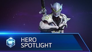 Genji Spotlight – Heroes of the Storm