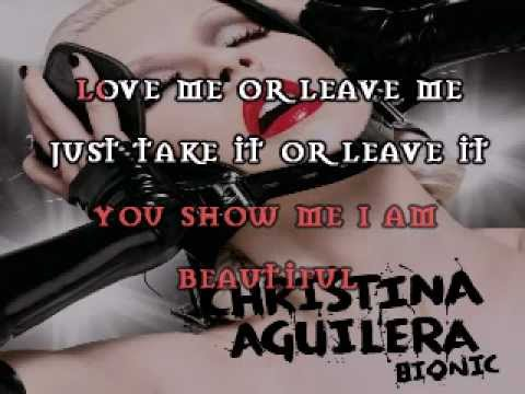 Christina Aguilera - I Am (Stripped) [Orchestra Version] Karaoke/Instrumental