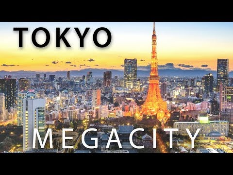 TOKYO: Earth's Model MEGACITY (2018) - The most dense, most safe, $2 Trillion GDP City in the World