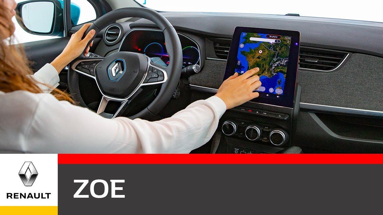 Renault ZOE Video Interni