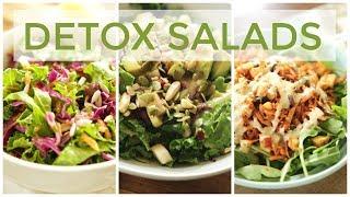 3 DETOX SALAD RECIPES   Easy & Healthy Recipes