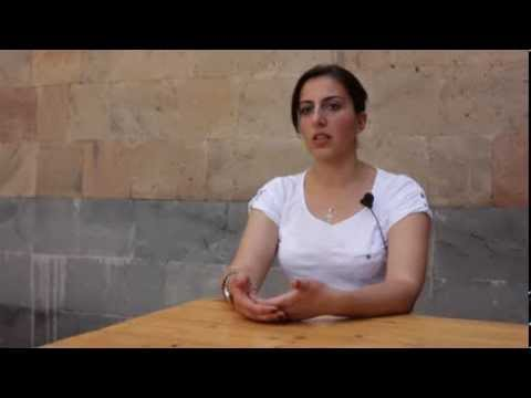 Short film devoted to 2013 International Youth Day (in Armenian)