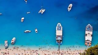 Остров Закинф, Греция | Бухта Навайо, лучшие пляжи, местная кухня