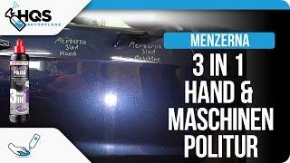 HQS Autopflege - Menzerna One-Step Polish 3in1 als Handpolitur und mit Maschine