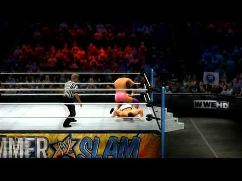 WWE'13 Summerslam PPV Sims - Cody Rhodes vs. Damien Sandow