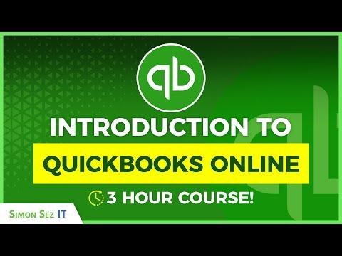 QuickBooks Online Tutorial: QuickBooks Online for Beginners - 3+ Hours!