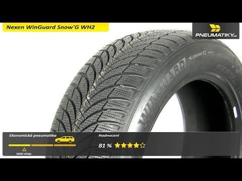 Youtube Nexen WinGuard Snow'G WH2 185/60 R14 82 T Zimní