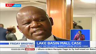 EACC officers arrested former stewards of Lake Basin Mall over corruption
