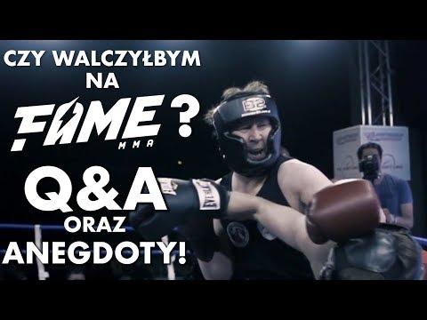 Czy walczyłbym na FAME MMA? Jak poznałem mejwenów? Q&A i anegdoty!