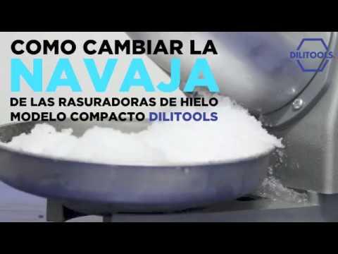 COMO CAMBIAR LA NAVAJA DE LAS MÁQUINAS PARA HACER RASPADOS MODELO COMPACTO DILITOOLS