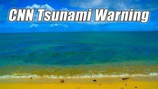 TSUNAMI HAWAII 2010 puts CNN viewers to sleep? Funny Video Spoof Hawaiian Tidal Wave Warning Alert